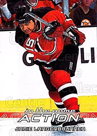 Amazon.com  (CI) Jamie Langenbrunner Hockey Card 2003-04 ITG Action ... 2d7660d82