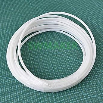 Impresora 3D - Tubo de teflón PTFE PTFE blanco resistente a ...