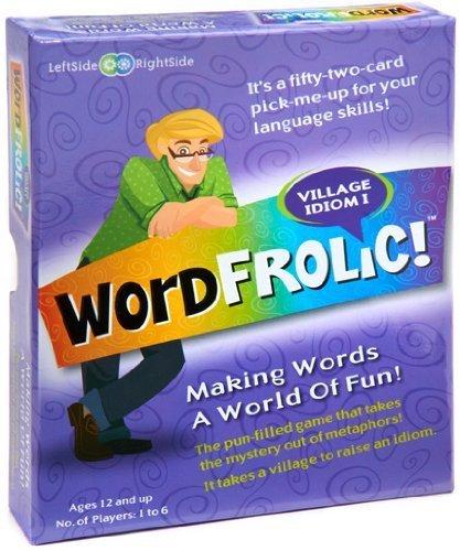 Wordfrolic  Village Idiom I Game