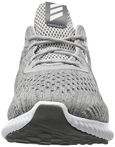 Adidas Mens Alphabounce Em M In Esecuzione Grigio Scarpa / Grigio / Bianco