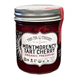 FOOD FOR THOUGHT Organic Tart Cherry Preserves, 9.5 Ounce