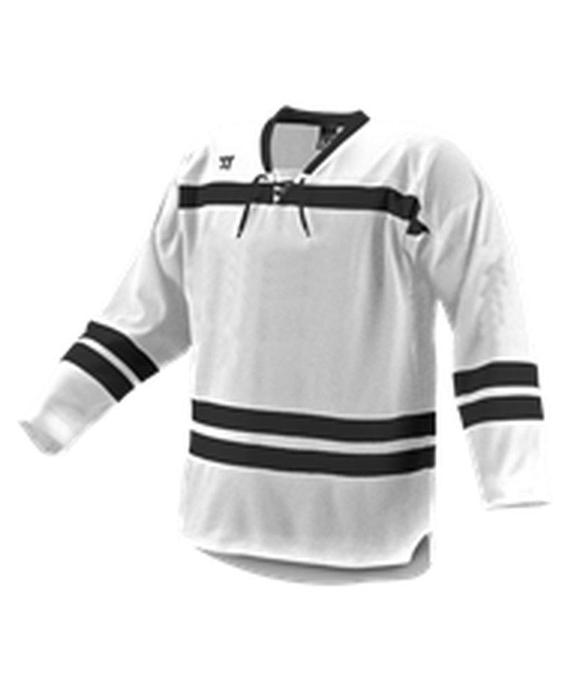 Alleson Athletic SHIRT メンズ B0743CDT3N Small|White, Black, Black White, Black, Black Small