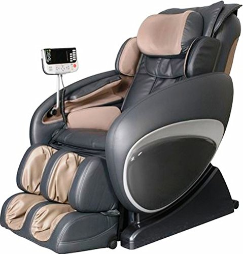 Osaki OS4000C-FWG Model OS-4000 Zero Gravity Executive Fully Body Massage Chair, Charcoal, Inlcudes FREE White-Glove Delivery in the US excluding Hawaii, Alaska and Puerto Rico
