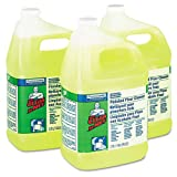 Mr. Clean Finished Floor Cleaner, 1 gal Bottle - three bottles of floor cleaner.