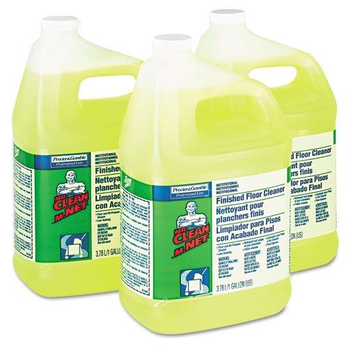 Mr. Clean Finished Floor Cleaner, 1 gal Bottle - three bottles of floor cleaner.