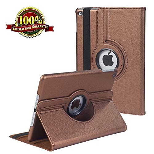iPad 9.7 inch New 2018 2017 Case/iPad Air 2 Case/iPad Air Case - 360 Degree Rotating Stand Protective Cover Leather Case with Auto Sleep/Wake for Apple iPad 9.7