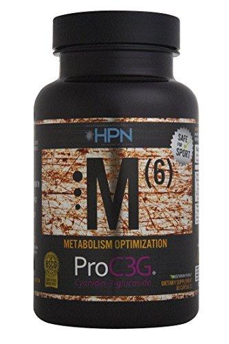 HPN M(6) Pro C3G (Metabolism Optimization), 60 Capsules b...