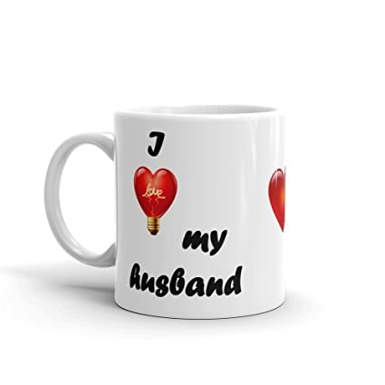 Buy Valentine Gift Mugs For Husband Wife Lover With 350ml Capacity