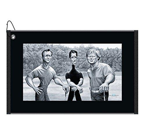 David O'Keefe: The Big Three Golf Towel (Arnie, Gary & (Arnold Palmer Border)