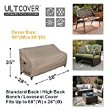 ULTCOVER Waterproof Outdoor Sofa Cover - Durable