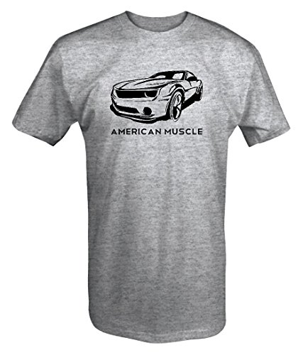 (American Muscle Chevy Camaro SS z28 Racing V8 Car T shirt - Large )