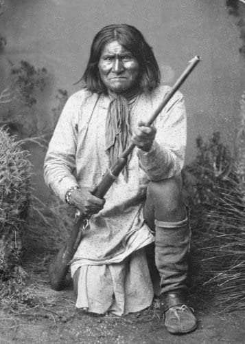 Leader of the Bedonkohe Apache New 5x7 Photo Geronimo in 1887