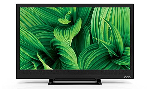 Vizio D24HN-E1 24-Inch Edge-Lit LED TV (2017 Model) (Certified (New Tech Tv Base)