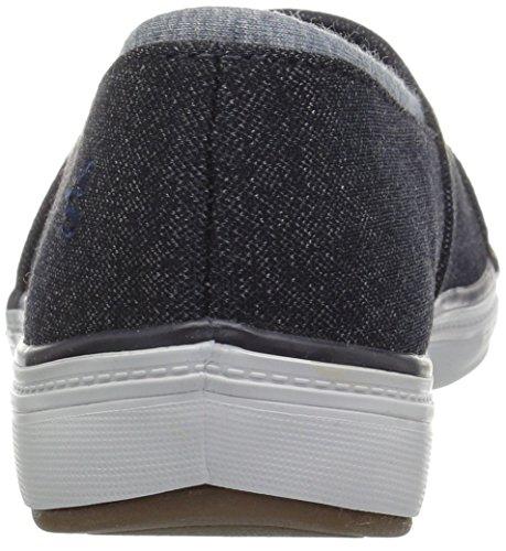Grasshoppers Women's Siesta Slip-on Fashion Sneaker Navy Denim oZN7NtIf
