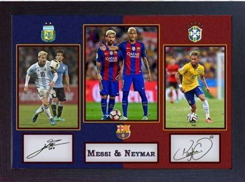 """Football Soccer Brazil Top Player 17/""""x13/"""" Poster 010 Neymar"""