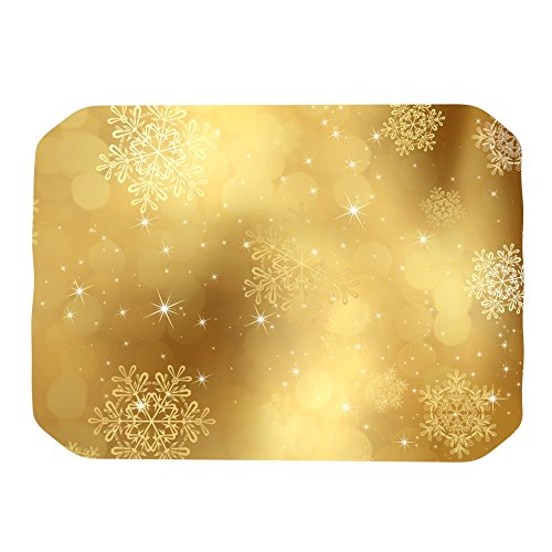 17 by 12-Inch Kess InHouse Snap Studio Golden Radiance Yellow Place Mat