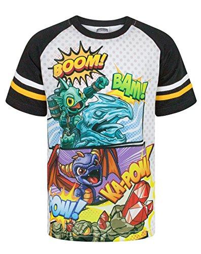 Skylanders Boom Boy's Raglan T-Shirt (5-6 -