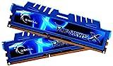quad ddr3 2400mhz - G.SKILL Ripjaws X Series 16GB (2 x 8GB) 240-Pin DDR3 SDRAM DDR3 2400 (PC3 19200) Desktop Memory Model F3-2400C11D-16GXM