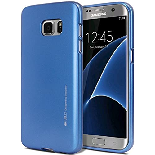 Galaxy S7 EDGE Case, [Ultra Slim Fit] Goospery i-Jelly Case [Metallic Finish] Sales
