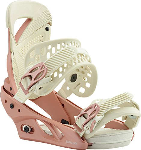 Burton Lexa Snowboard Bindings Rose Gold Womens Sz M ()