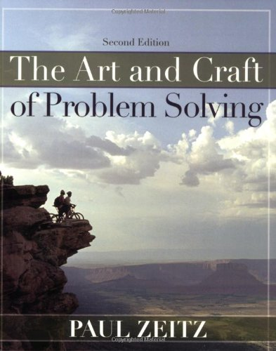 cheapest copy of the art and craft of problem solving by