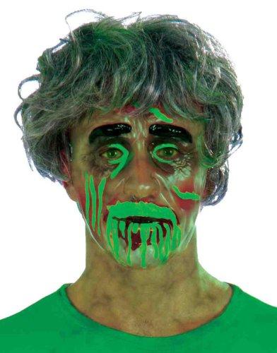 Biohazard Transparent Mask-Male (Plastic Mask Transparent)