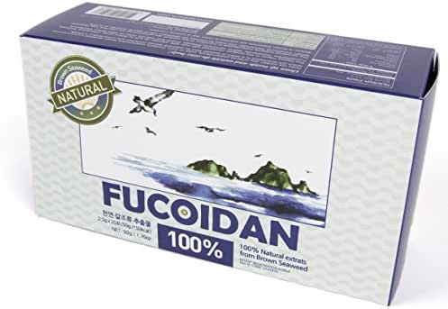 100% Natural Brown Seaweed Extract SEAHERB Fucoidan USFDA Passed (FDA ID Code 2030950) (20Satchets/50g, Powder)