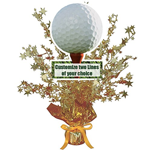 Golf Banner (GOLF CUSTOMIZED CENTERPIECE (EACH))