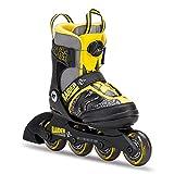 K2 Skate Raider Boa Inline Skates, Gray/Yellow