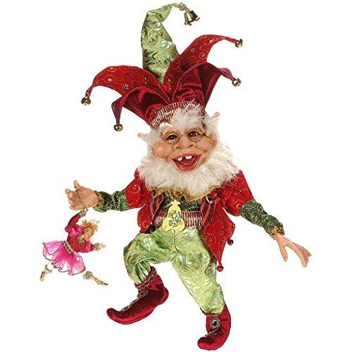 Fairies Collection Dancing (Mark Roberts Elves, 9 Ladies Dancing Elf Medium, 16 inches)