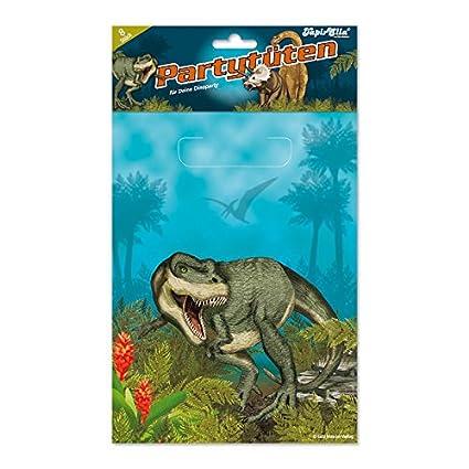 8 bolsas de fiesta * & dinosaurios T-Rex * para fiestas y ...