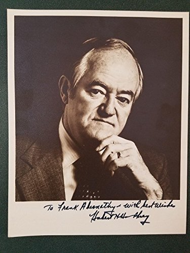 Hubert Humphrey-signed vintage photo-18 - JSA Certified