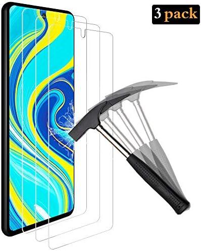 ANEWSIR (3X Pellicola Protettiva per Xiaomi Redmi Note 9S/Note 9 PRO/ 9 PRO Max Vetro temperato, Facile da Pulire Installazione, Trasparente Screen Protector per Redmi Note 9S/Note 9/9 PRO Max