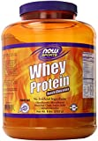 NOW Foods Whey Protein, Dutch Chocolate, 6-Pound Container