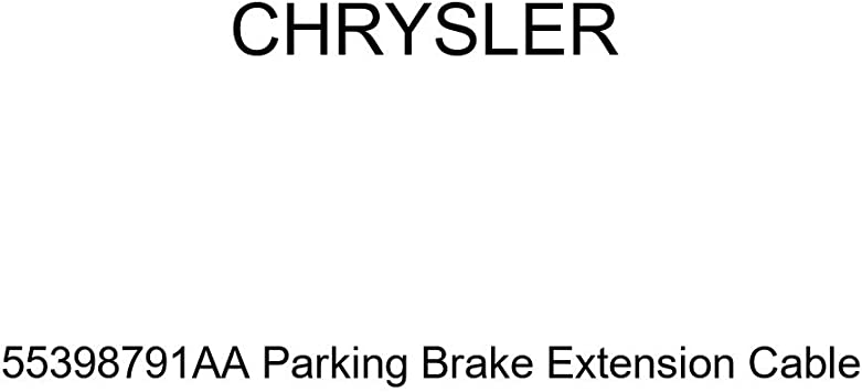 Genuine Chrysler 55398791AA Parking Brake Extension Cable