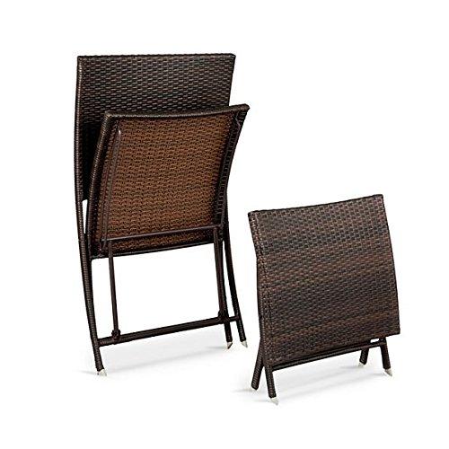 Key Largo Folding Chair and Ottoman Set