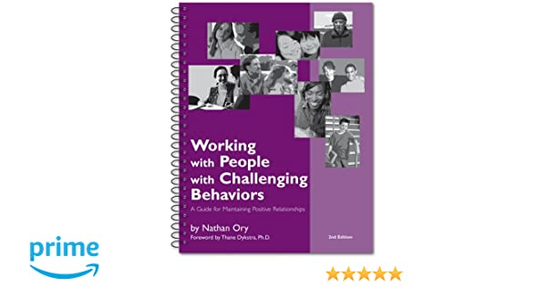 Working with People with Challenging Behavior