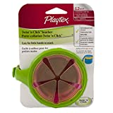Playtex Flip Top Snacker with Twist 'N Click, Color may vary