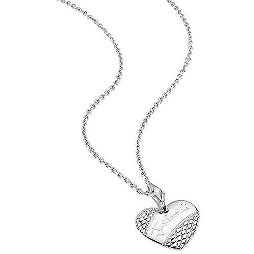 detailed look 13840 36b25 Just Cavalli - Collana con ciondolo a forma di cuore ...