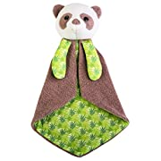 Apple Park Organic Patterned Blankie - Owl