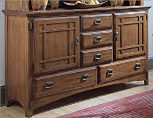Amazon Com Universal Furniture Artisan Oak Buffet In