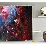 Space Decorations Collection Space Nebula with Star Cluster in the Cosmos Universe Galaxy Solar Cele