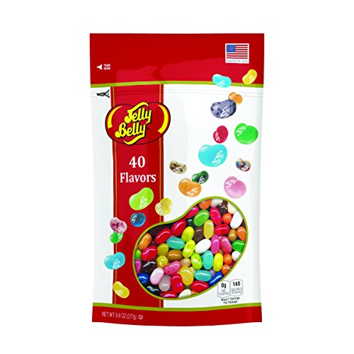 (Jelly Belly Jelly Beans, 40 Flavors, 9.8-oz, 12 Pack)