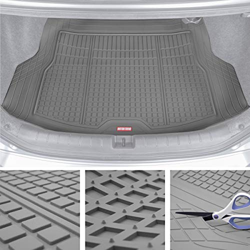 Motor Trend Premium FlexTough All-Protection Cargo Mat Liner - w/Traction Grips & Fresh Design