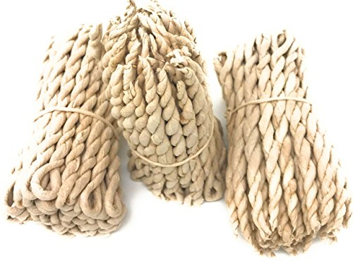 Nepali to nepali Mt.Everest Himalyan Cedar Rope Incense Roll of 3x45 Rope=135 Rope Founded by Buddhist Monk Dr. Umesh Lama in 1981