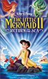 The Little Mermaid II: Return to the Sea VHS (with Attached CD -
