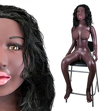 Poupée Réaliste Suceuse Assise Black Brittany - Muñeca ...