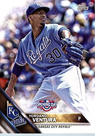 newest collection 6ad08 6b4d4 Amazon.com: 2016 Topps Opening Day Baseball #OD 69 Yordano ...