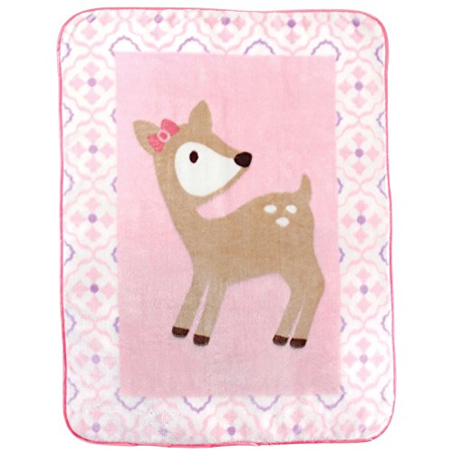 Luvable Friends Character High Pile Blanket, 30