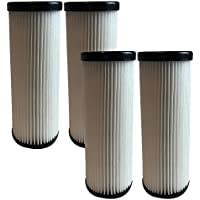 4 Replacement for Dirt Devil F1 HEPA Style Filter, Compatible With Part # 3JC0280000 & 1863118000, Washable & Reusable, by Think Crucial